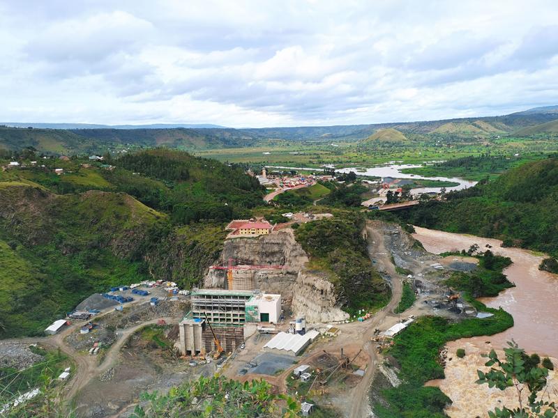 卢旺达RUSUMO水电站项目