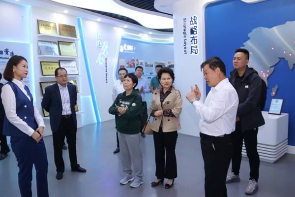 中国水利工程协会副秘书长任京梅一行莅临亚洲城电子app入口调研指导